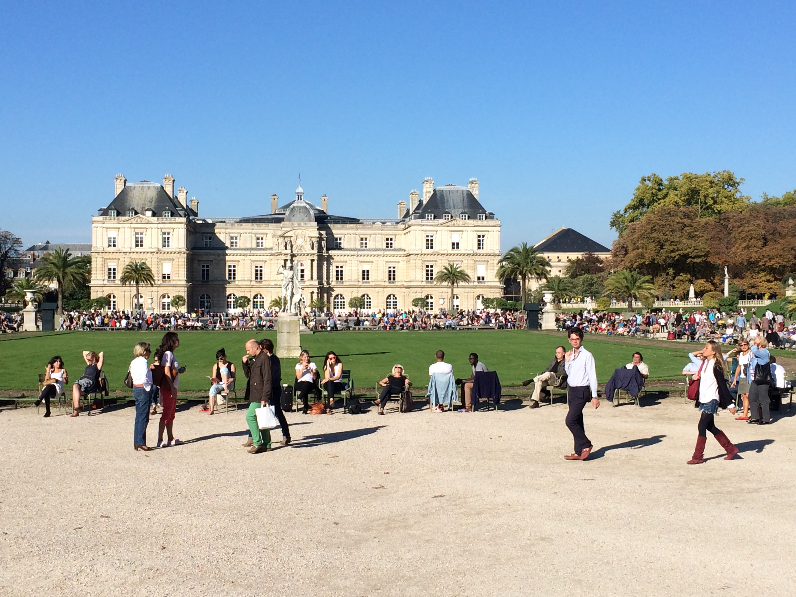 Experience paris for Cafe jardin du luxembourg