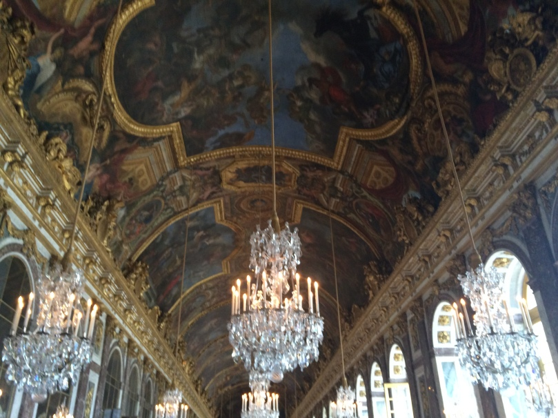 Hall of mirrors at Versailles