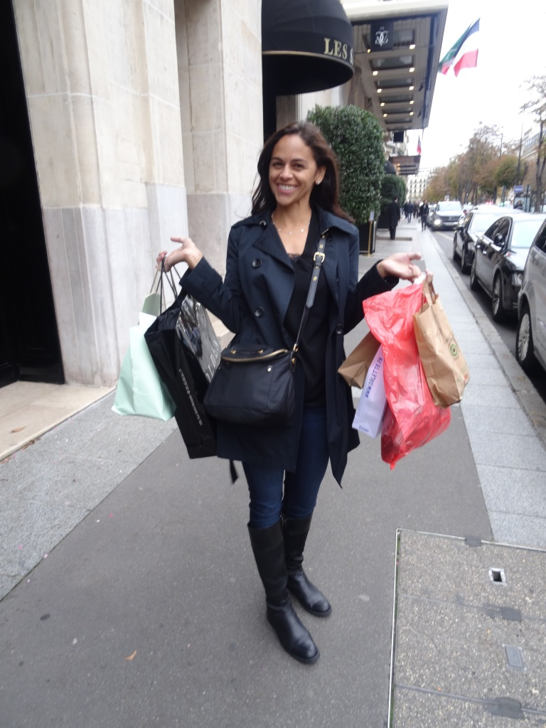 Shopping in Paris!