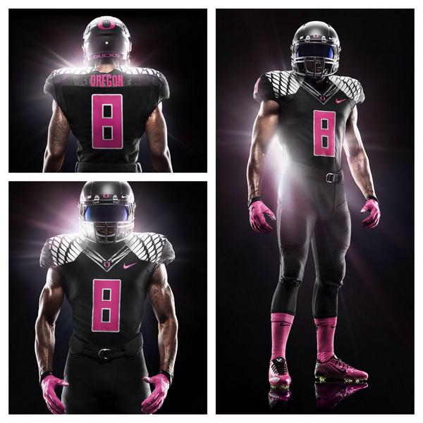 oregon-ducks-black-pink-breast-cancer-awareness-uniforms