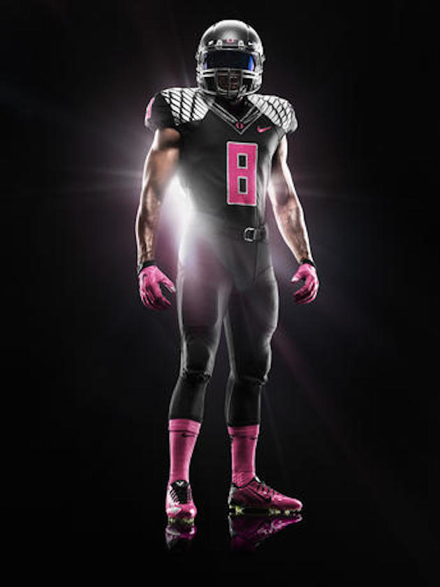 Oregon pink uniform