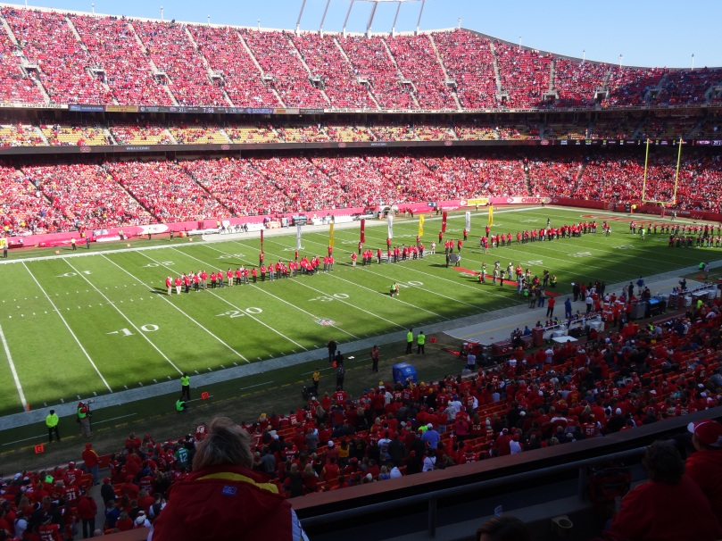 Chiefs Alumni Ceremony at Arrowhead Stadium